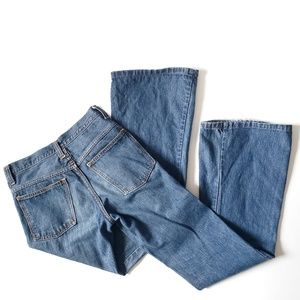 Vintage Farah Bell Bottom Jeans High Waist Size 26